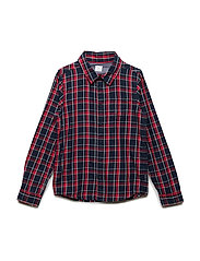 Shirt Long Sleeve Checked School