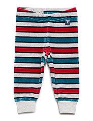 Long Johns Striped Baby - GREYMELANGE