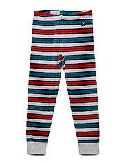 Long Johns Striped Preschool - GREYMELANGE