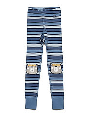 Long Johns Striped Preschool - CORONET BLUE