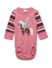 Body Long Sleeve Application Baby - ROSE WINE
