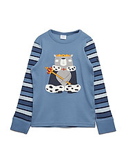 Top Long Sleeve application Pre-School - CORONET BLUE