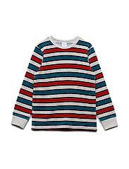 Velour Long Sleeve striped Pre-school