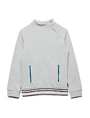 Top Long Sleeve School - GREYMELANGE
