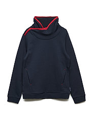 Sweater Long Sleeve Solid School - DARK SAPPHIRE