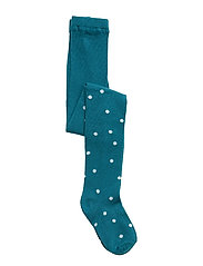 Tights Printed Preschool - COLONIAL BLUE