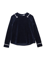 Top Long Sleeve School - DARK SAPPHIRE