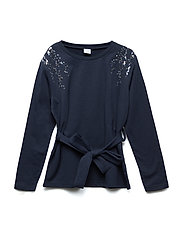 Sweater Long Sleeve School - DARK SAPPHIRE