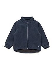 Baby Windproof Fleece Jacket - DARK SAPPHIRE