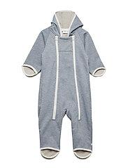 Softshell Baby Overall - GREYMELANGE