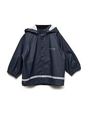 Waterproof Rain Jacket - DARK SAPPHIRE