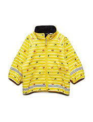 3aeea79b Waterproof Baby Rain Jacket Regnjakke Gul POLARN O. PYRET