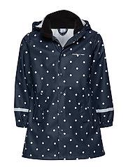 Waterproof Rain Coat - DARK SAPPHIRE