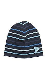 Striped Hat - DARK SAPPHIRE