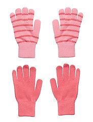 Knitted Magic Gloves in Pack of 2 - SACHET PINK