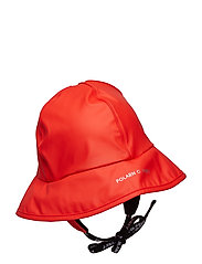Waterproof Rain Hat - FLAME SCARLET