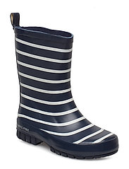 Striped Wellies - DARK SAPPHIRE