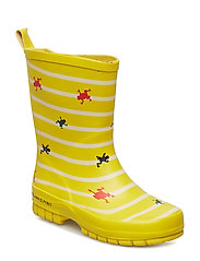 Striped Wellies