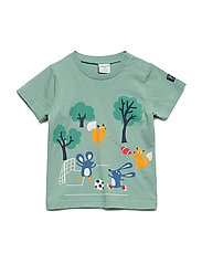 T-shirt Frontprint Preschool - MALACHITE GREEN