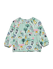 Top Long Sleeve with print Preschool - MALACHITE GREEN