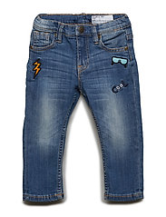 Jeans Slim Preschool - LIGHT DENIM