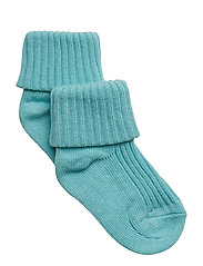 Sock Solid Baby - AQUA HAZE