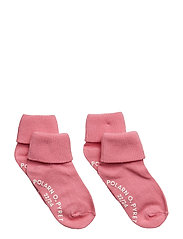 Sock 2-Pack Solid Preschool - SACHET PINK