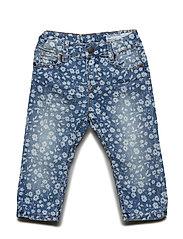 Trousers Woven Preschool - LIGHT DENIM