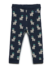 Trousers with print Preschool - DARK SAPPHIRE
