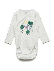 Body Wrapover Application Baby - SNOW WHITE