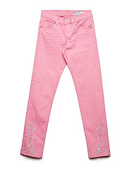 Trousers Woven Embroidery School Jeans Rosa POLARN O. PYRET