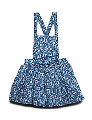 Dungaree Dress Solid Preschool - DELFT