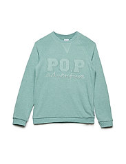 Sweater Long Sleeve  School - MALACHITE GREEN