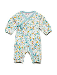 Overall with print Baby - SNOW WHITE
