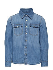 Shirt Long Sleeve denim School