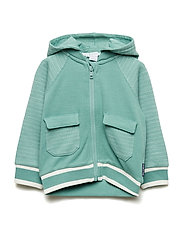 Sweatshirt Hood Preschool - MALACHITE GREEN