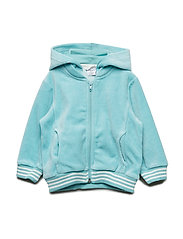 Zip Up velour Solid Pre-school