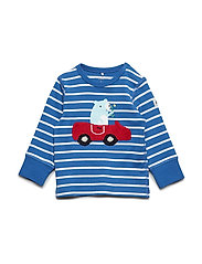 T-shirt Long Sleeve PO.P Stripe Baby - DELFT