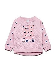 Sweater embroidery Preschool - SACHET PINK