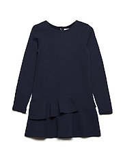 Dress Long Sleeve School - DARK SAPPHIRE