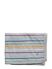 Blanket PO.P Stripe Baby - GREYMELANGE
