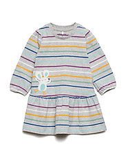 Dress PO.P Stripe Baby - GREYMELANGE