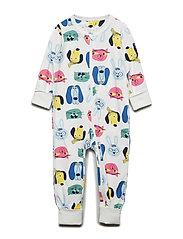 Pyjamas Overall with print Baby - SNOW WHITE