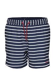 Swimwear Pants Stripe School - DARK SAPPHIRE