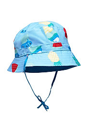 Sunhat Reversible Solid/AOP Preschool