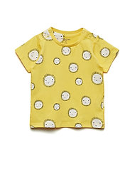 T-shirt S/S AOP Baby - SNAPDRAGON