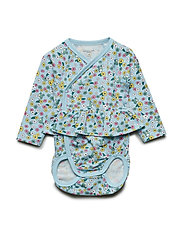 Body Wrapover AOP Baby - COOL BLUE