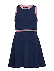 Dress Jersey School - MEDIEVAL BLUE