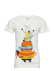 T-shirt Frontprint s/s School - CONCORD GRAPE