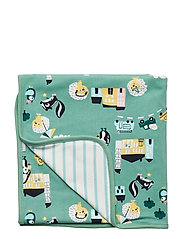Blanket PO.P AOP Baby - MALACHITE GREEN